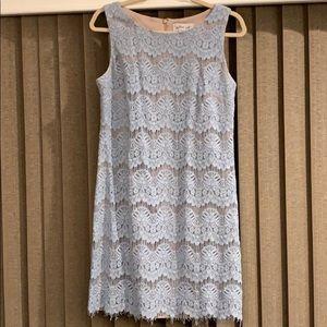 JESSICA H sleeveless lace dress SIZE 8